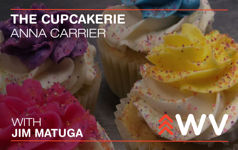 Episode 95 – Anna Carrier – The Cupcakerie