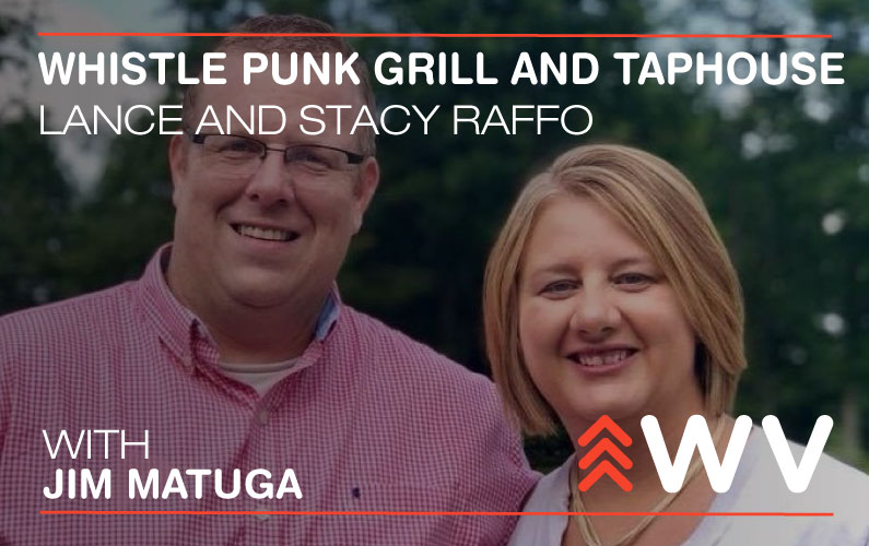 Episode 105 – Lance and Stacy Raffo – Whistle Punk Grill and Taphouse