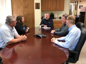 TMC Leadership Discuss Recruitment Program